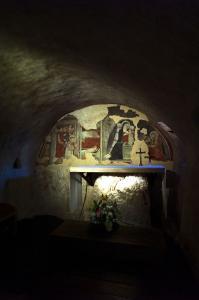 Santuario Francescano del Presepe, Greccio, Italia, 2019